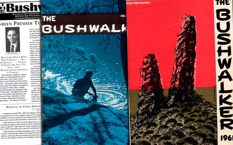 Bushwalking NSW Bushwalker Magazine archive