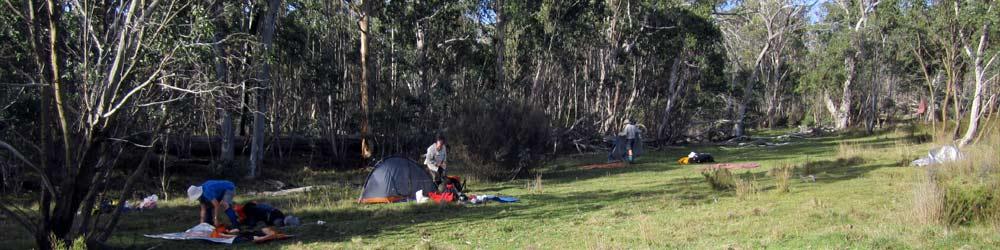 Bush campsite