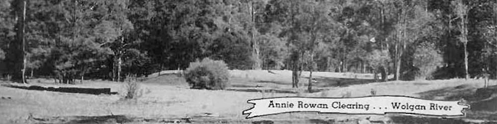 Annie Rowan Clearing