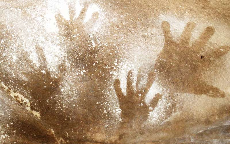 Protecting indigenous rock art is an important bush conservation issue