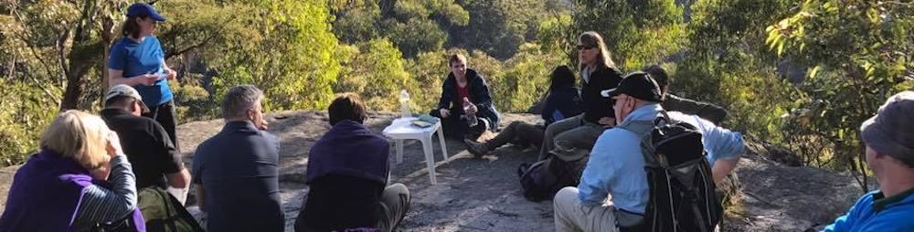 Minimal Impact Bushwalking Training day in the bush